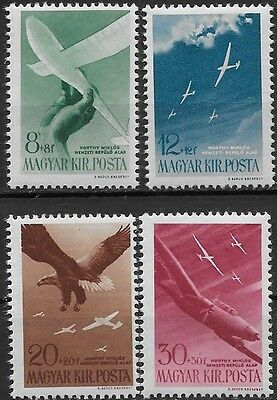 Hungary Third Reich Axis Horthy Aviation Fund 1943 MNH **