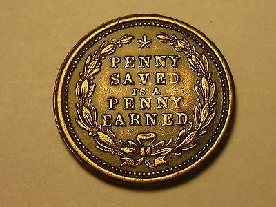Penny Saved Is A Penny Earned.  Benjamin Franklin,  Sharp Strike!