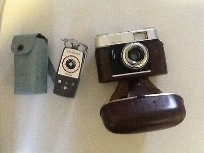 voigtlander Vitoret D With Flash And Cases