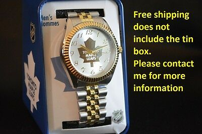 New Official NHL men's Toronto Maple Leafs watch FREE SHIPPING in NA