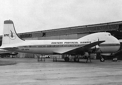 Flying Books Postcard - Atl 98 Carvair - Cf-Epx Of Eastern Provincial 1968
