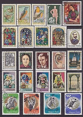 Hungary (7) - Another Good Lot Of 24 Used Stamps - See Scan.