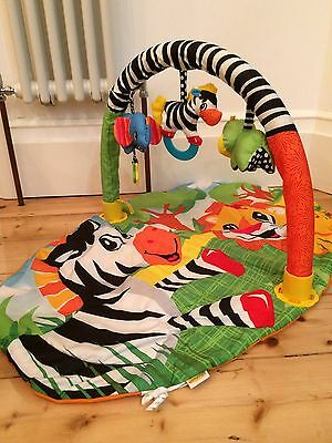 Infantino Jungle Buddies Explore & Store Activity Gym & Play Mat