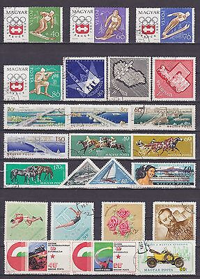 Hungary (9) - Another Good Lot Of 24 Used Stamps - See Scan.