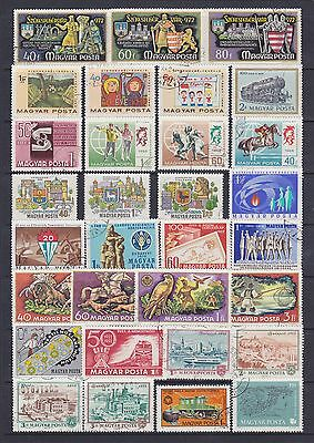 Hungary (10) - Another Good Lot Of 31 Used Stamps - See Scan.