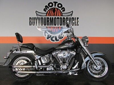 Harley Davidson Softail Deluxe  2005 Harley Softail Deluxe Flstni Clean Cheap And Ready We Finance And Ship