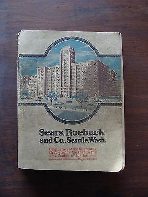 Sears, Roebuck and Co., Seattle, Wash, Catalog #142, 1921