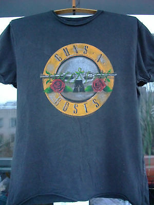 Amplified Guns N Roses T-Shirt Charcoal size M