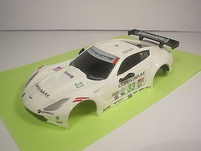 CUSTOM 1/43 Carrera GO!! Chevrolet Corvette CR-7 #33 Compuware BODY ONLY *NEW*