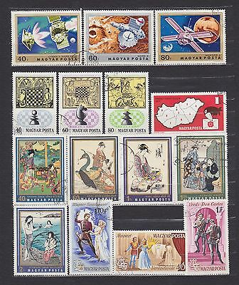 Hungary (14) - Another Good Lot Of 15 Used Stamps - See Scan.