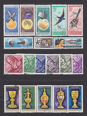 Hungary (15) - Another Good Lot Of 19 Used Stamps - See Scan.
