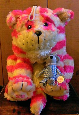 Large Bagpuss Pyjama Case Soft Toy 30Th Anniversary With Mouse Vgc