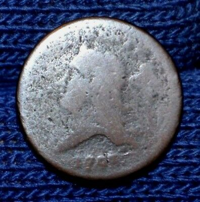 1793 HALF CENT**Great Price**Readable date