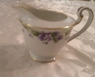 "noritake "" nancy "" milk jug (5163) excellent condition"