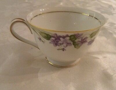 "noritake "" nancy "" tea cup no saucer (5163) excellent condition"