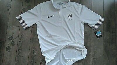Maillot France  extérieur M pro player issue shirt, jersey, maglia,camiseta. FFF