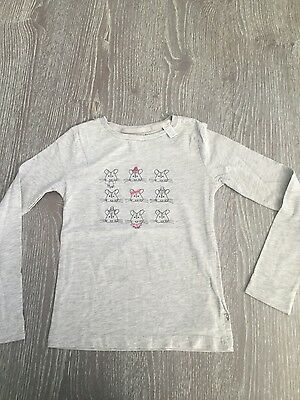 T-shirt OKAIDI manches longues fille taille 8 ans