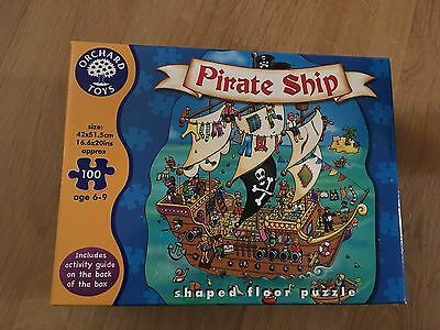 Pirate Shipp puzzle. Orchard Toys. 100 pieces.