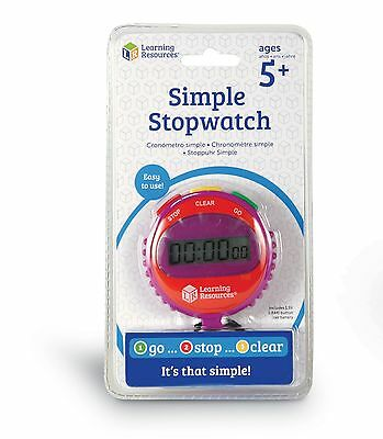 Learning Resources Simple Stopwatch