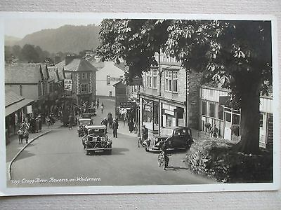 orig Real photo postcard,cragg brow,Bowness-on-Windermere,c1930s