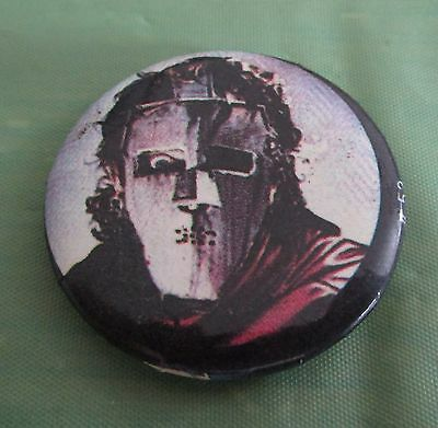 Quite Riot Mask Pin Button Badge Rock Music Band