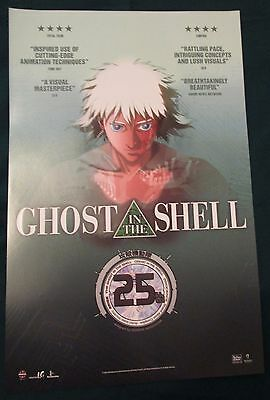 Ghost in the Shell / Kite Double-sided Movie Promo Poster Fan Expo Comic Con