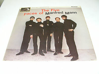 Manfred Mann - The Five Faces Of - Uk 1964 -