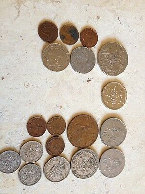 Job lot of old coins 1948,1954,1967,1966,1971,1959 used