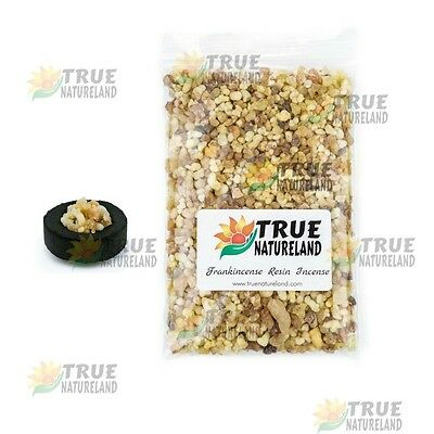 230g Frankincense Resin Incense + FREE CHARCOAL DISK Pure Aromatic Resin