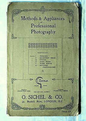 Methods and Appliances of Professional Photography. Catalogue Meyer, Sichel etc.