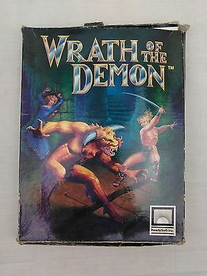 Amiga Game Wrath of the Demon | Complete & Tested | FREE UK POST | GC