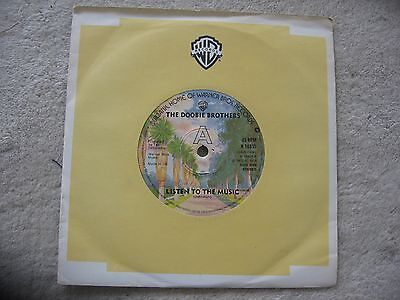 """The Doobie Brothers - ,listen To The Music   7"""" Single"""