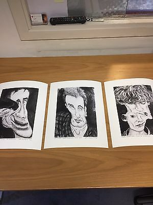 Set Of 3 Public Image Limited Metal Box edition of 50 signed Giclée print