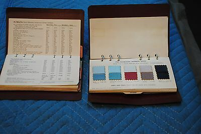 1964 Plymouth Salesman Data & Color/trim Books Original Mopar