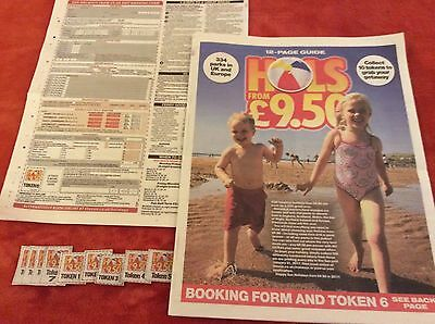 Great Sun Offer Holidays From £9.50 Booking Form And All 10 Tokens Included