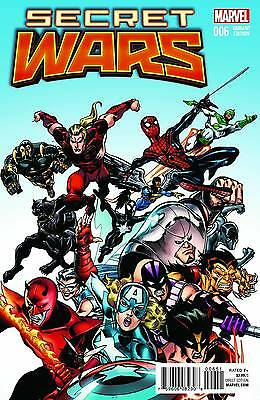 SECRET WARS #6 (OF 8) 1:25 Classic Variant Cover