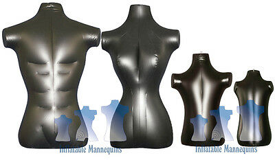 Inflatable Mannequin - Standard Family Package, Black