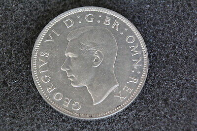 1942 King George VI Silver Florin Two Shillings 2/- #2