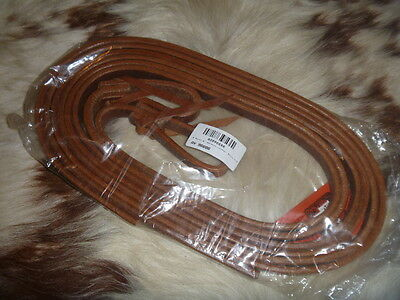 Leather Reins - NEW Billy Royal 8' Split Leather Reins
