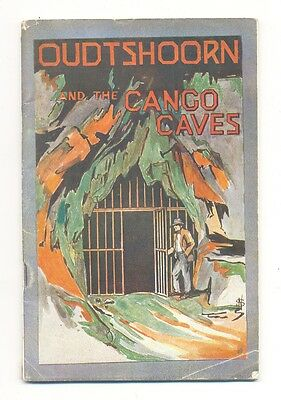 South AFRICAN RAILWAYS Handbook from OUDTSHOORN and the CANGO CAVES c.1923