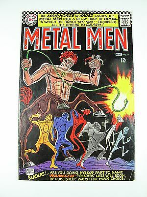 Metal Men 19 DC 1966 The Man-Horse of Hades!