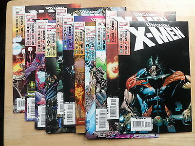 Uncanny X Men #476 - 486 _  (Rise & The Fall Of The Shi'ar Empire) _ 2006
