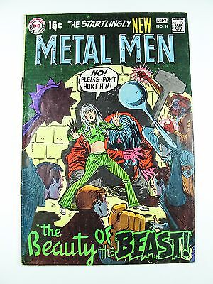 Metal Men 39 DC 1969 The Beauty of the Beast