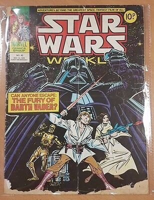 Star Wars Weekly ***ISSUE 42!!*** Marvel UK 1978 Comic Space Fantasy