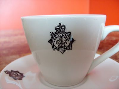 Rare OLD Penitentiaries Canada Corrections Jail Service Cup Saucer Grindley