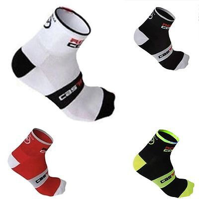 Breathable Sports Wearproof Cycling Riding Socks High Elasticity Ankle-high