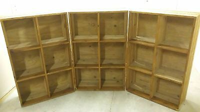 Large Rustic Bookcase Shelving Unit Shop Display 1 Of 3