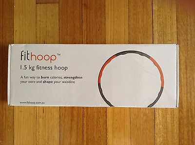 Fithoop Fit Hoop Hula NEW Exercise Core Abs Fitness