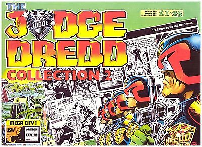 Judge Dredd Collection #2 FN- (5.5) 1986 Daily Star Strip Reprints