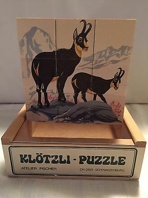 Klotzli 6 Sided Wooden Puzzle